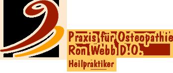 Logo Praxis für Osteopathie Ron Webb D.O.